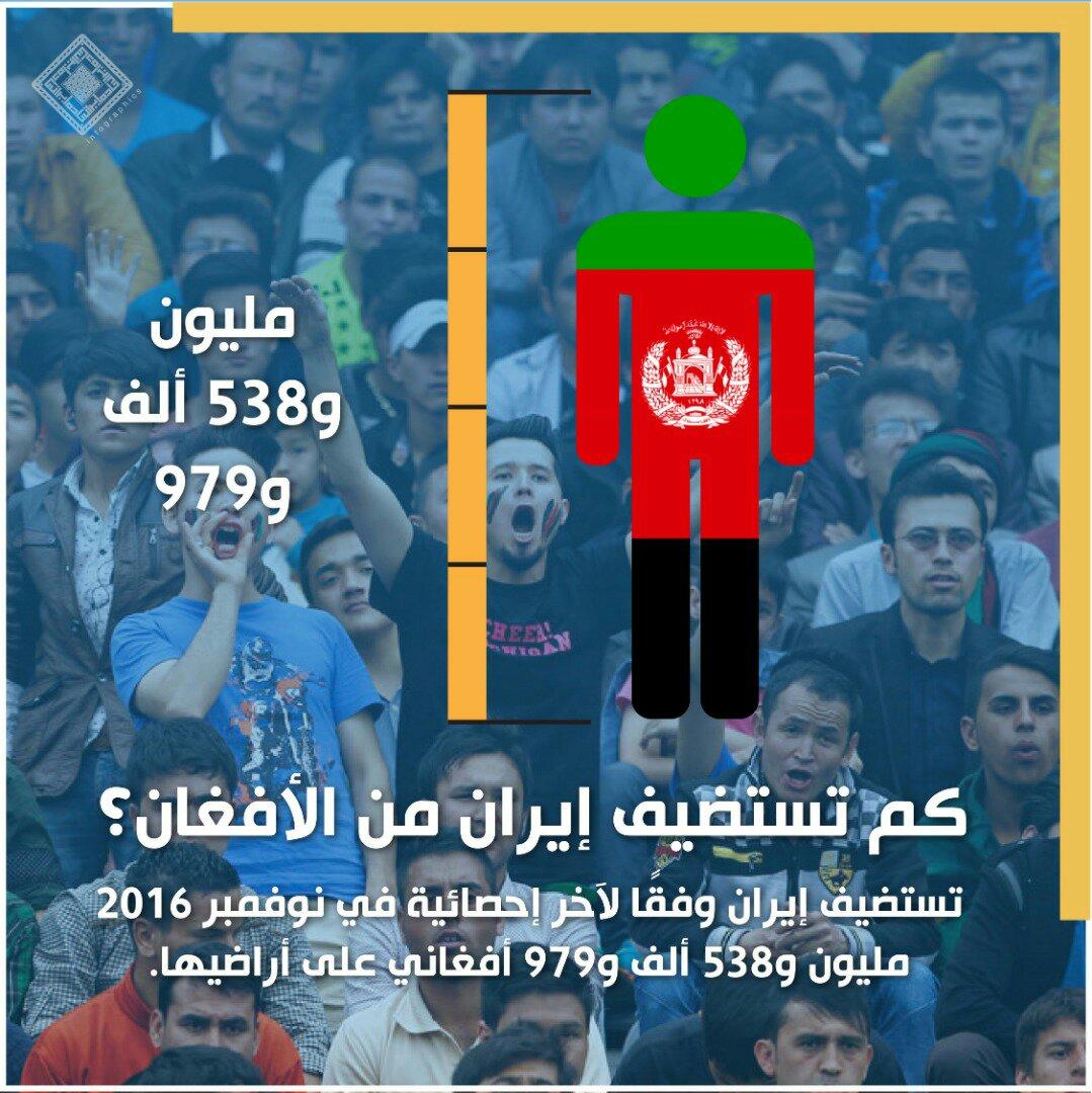 انفوغراف: الأفغان في إيران 1