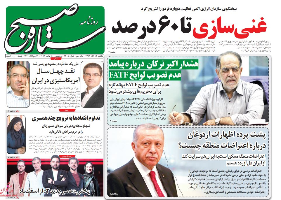 مانشيت إيران: هل يحقق التصعيد النووي الإيراني ما تريده أميركا؟ 1