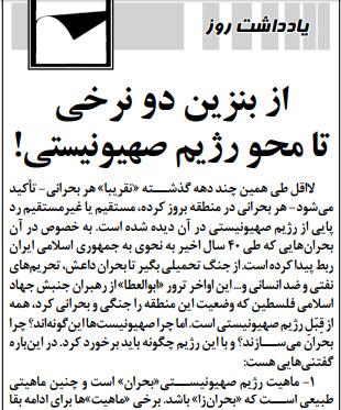 """مانشيت إيران: ما بين استقالة روحاني ودعوات إنهاء الدعم الخارجي لـ """"المقاومة""""… كيف عالجت الصحف الإيرانية قضية ارتفاع أسعار البنزين؟ 6"""