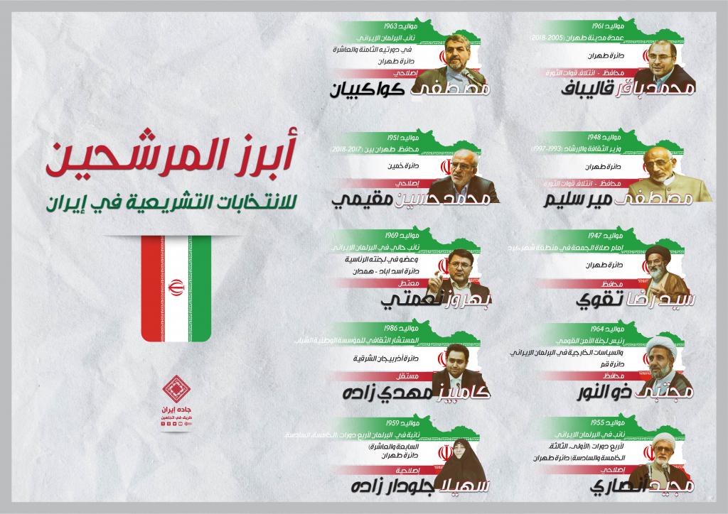 من هم أبرز مرشحي انتخابات إيران التشريعية؟ 1