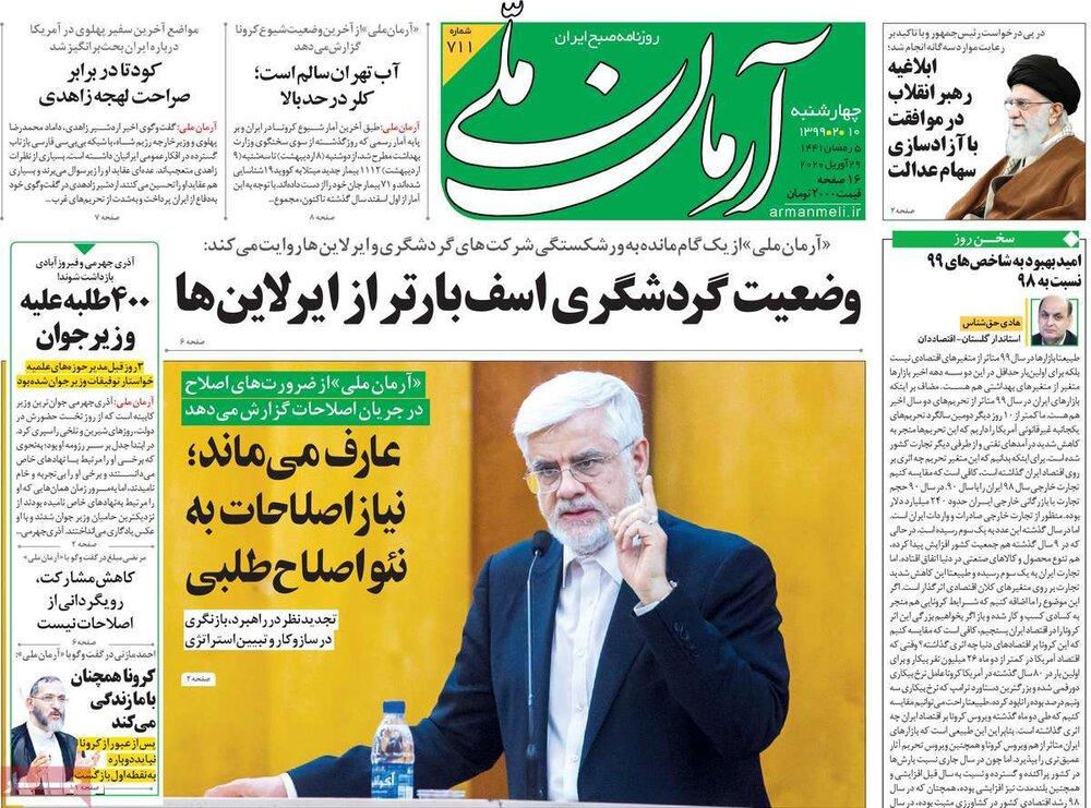 مانشيت إيران: الإصلاحيون وأزمة التجديد 1