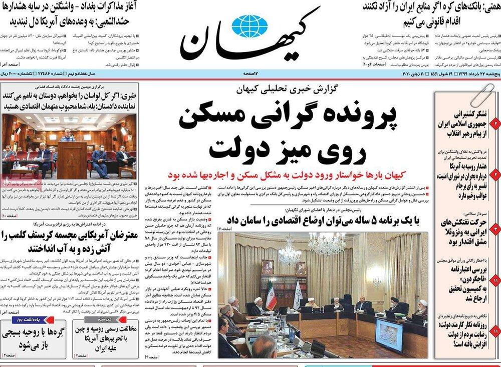 مانشيت إيران: فشلٌ محتوم للسياسات الأميركية في مواجهة إيران 4