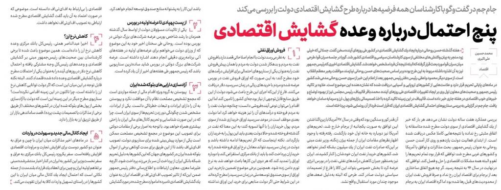 مانشيت إيران: انفجار بيروت يشعل الضوء الأحمر في طهران.. 4 مليون إيراني في دائرة الخطر 16