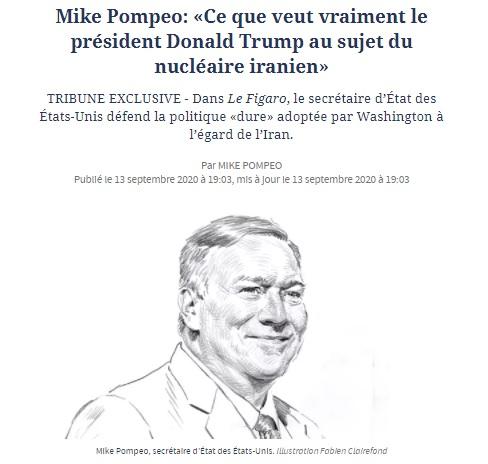 """في محاولة لاستمالة الفرنسيين.. بومبيو يشرح سياسة """"الضغط الأقصى"""" على إيران 1"""