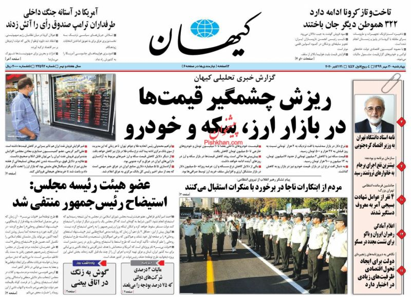 مانشيت إيران: كيف أثّرت العقوبات على تطوّر إيران؟ 1