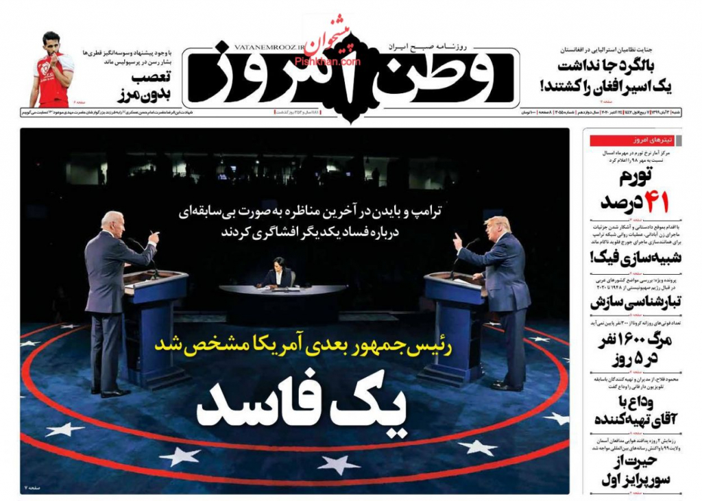 مانشيت إيران: منحنى التضخم في تصاعد.. ما أخر الأرقام؟ 1