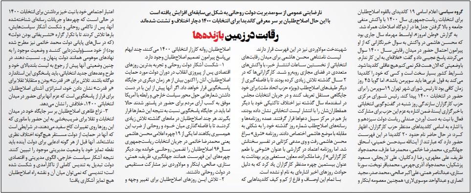 مانشيت إيران: هل تؤثر هزيمة ترامب في حظوظ من سيتنافس على رئاسة إيران؟ 7