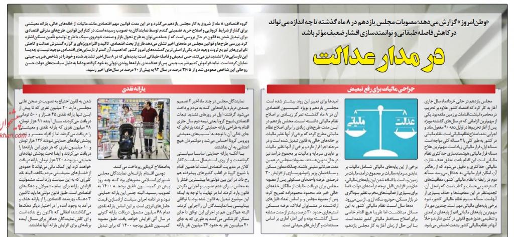 مانشيت إيران: التعديلات في قانون الانتخاب وتأثيره على العملية الانتخابية 7