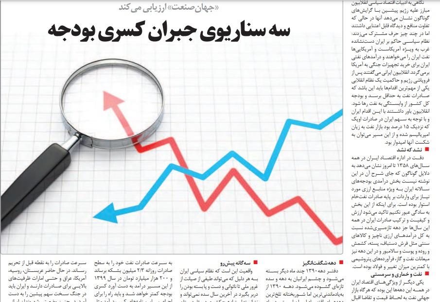 مانشيت إيران: ما هي حظوظ ظريف في الانتخابات الرئاسية المقبلة؟ 8