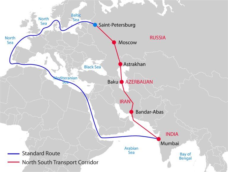 سفير إيران في موسكو بسبب السفينة الجانحة: هذا بديل قناة السويس 1