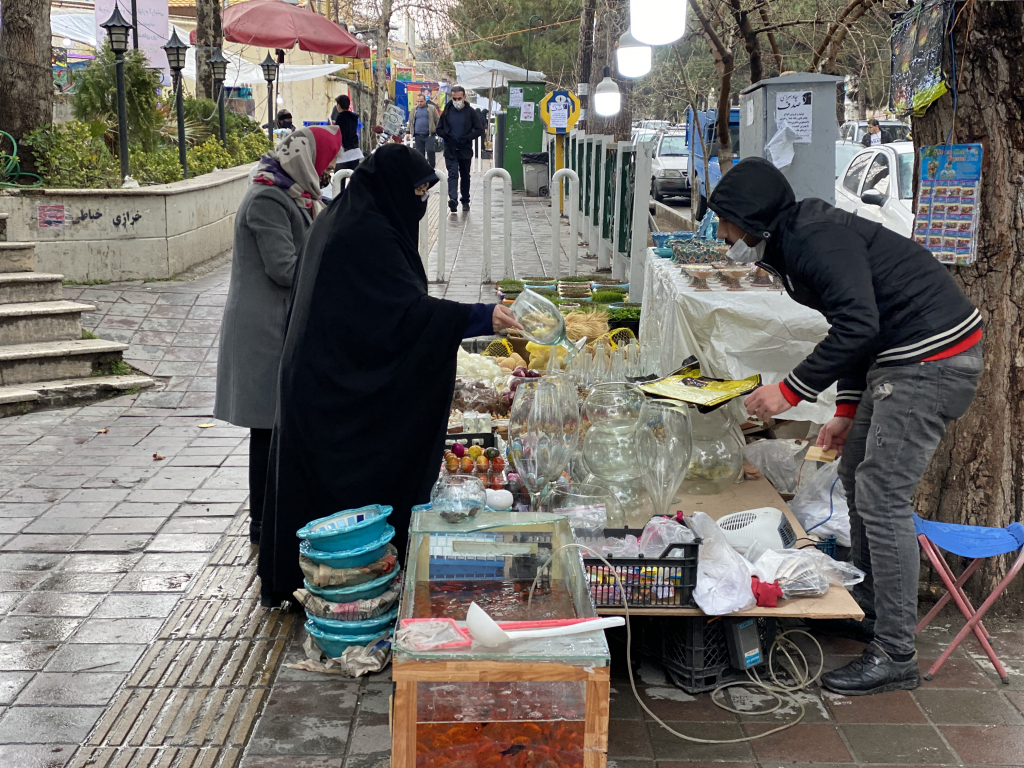 بالصور: كيف تستعد إيران لاستقبال نوروز هذا العام؟ 4