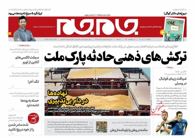 مانشيت إيران: انفجار شمالي طهران بين غموض الحقيقة وانتقاد التهويل 2